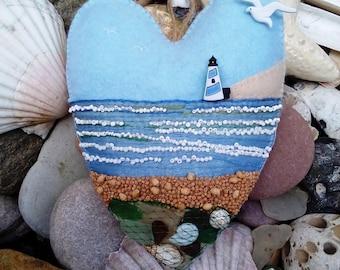 Decorative Felt Heart Decoration