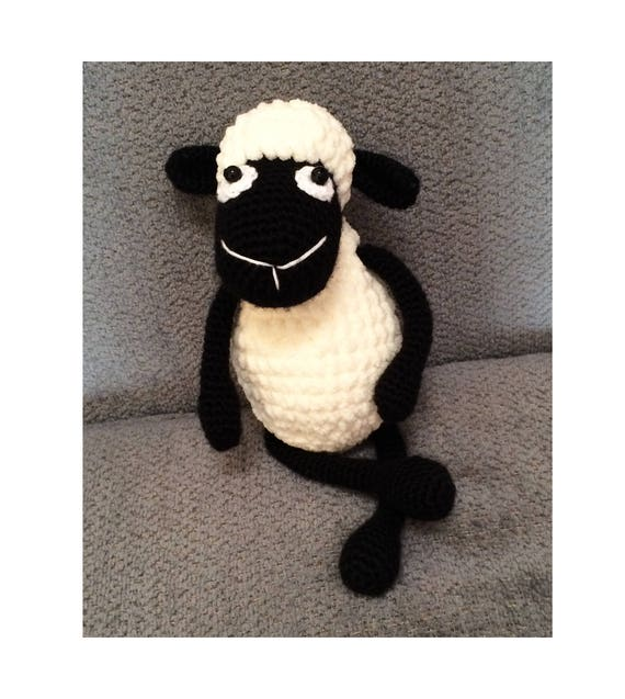 Black Sheep Baby Toy Amigurumi Sheep Toy Stuffed Animal Etsy