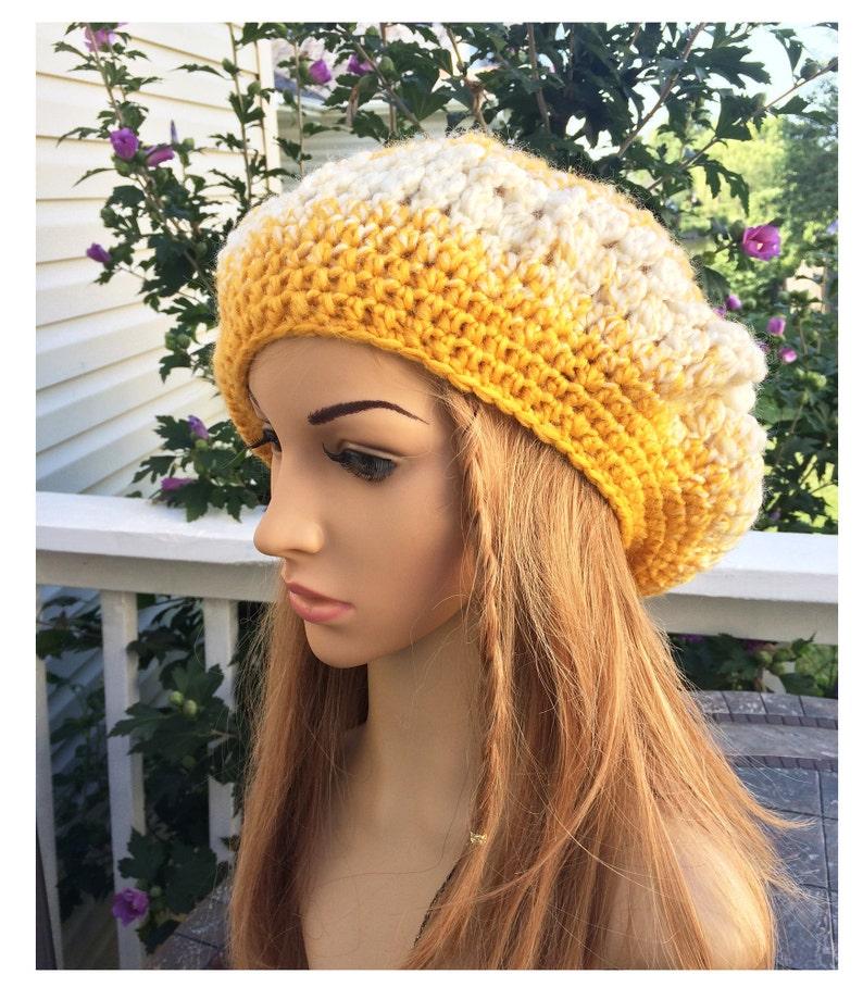 982750daaa4b1 Women s knit beret crochet lace Knit French Beret