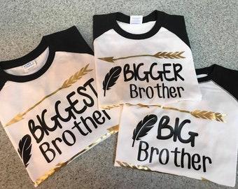 Custom Big Silbling T-Shirt