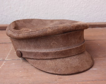 adbbc8ea48b Leather hippie hat