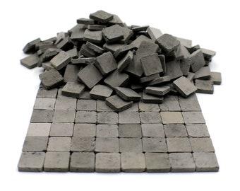Dollhouse Miniature Floor Tile Clay Material 100 Hexagonal Tiles Pellegrini