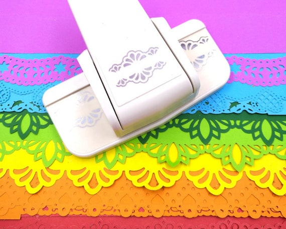 Border Trim Hole Punch Card and Scrapbook Accessory