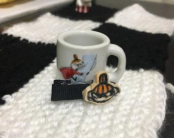 Handmade Little My Moomin Hair Clip / Barrette