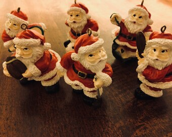vintage santa ornaments dillards trimmings