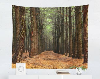 Tapestry | Nature Tapestry | Nature Wall Tapestry | Nature Wall Décor | Nature Gift | Nature Wall Art | Nature Art | Nature Décor | Forest