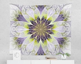 Purple Mandala Tapestry | Mandala Wall Tapestry | Mandala Wall Art | Wall Hanging | Mandala Wall Décor | Mandala Gift | Mandala Décor