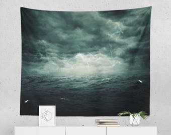 Storm Wall Décor | Storm Tapestry | Storm Wall Tapestry | Storm Gift | Storm Wall Art | Storm Art | Storm Décor
