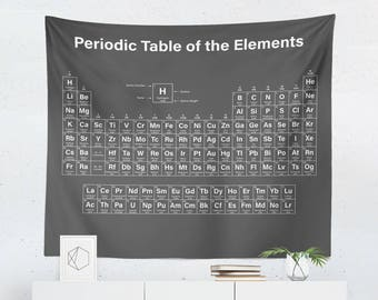 Periodic table etsy periodic table wall art periodic table tapestry periodic table wall dcor periodic table gift periodic table wall tapestry urtaz Choice Image