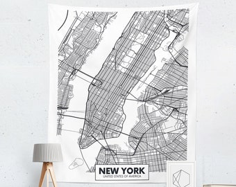 Black And White Subway Map Tapestry.Map Tapestry Etsy