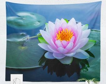 Lotus Tapestry Etsy