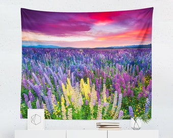 Lavender Tapestry | Lavender Wall Tapestry | Purple Tapestry | Purple Wall Tapestry | Lavender Wall Decor | Lavender Wall Hanging | Purple
