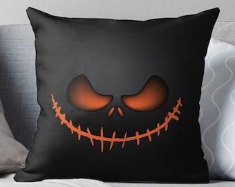 Nightmare Before Christmas Decor | Halloween Pillow | Halloween Decoration | Halloween Décor | Halloween Pillow | Halloween Throw Pillow |