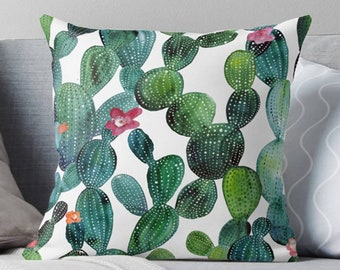 Cactus Pillow | Cactus Décor | Cactus Throw Pillow | Cactus Decoration | Succulent Pillow | Succulent Décor | Succulent Throw Pillow