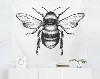 ähnliche Artikel Wie Zeichnung Biene Poster Biene Print Am