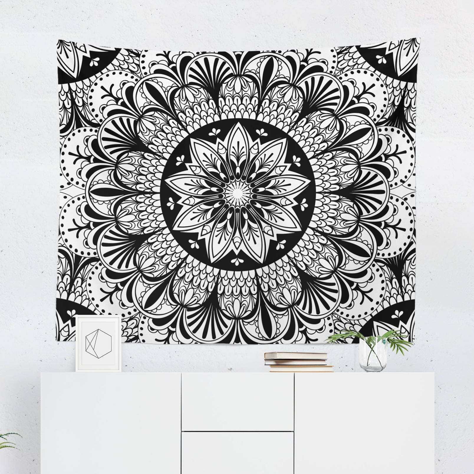 tapisserie noir et blanc tapisserie murale noir et blanc. Black Bedroom Furniture Sets. Home Design Ideas