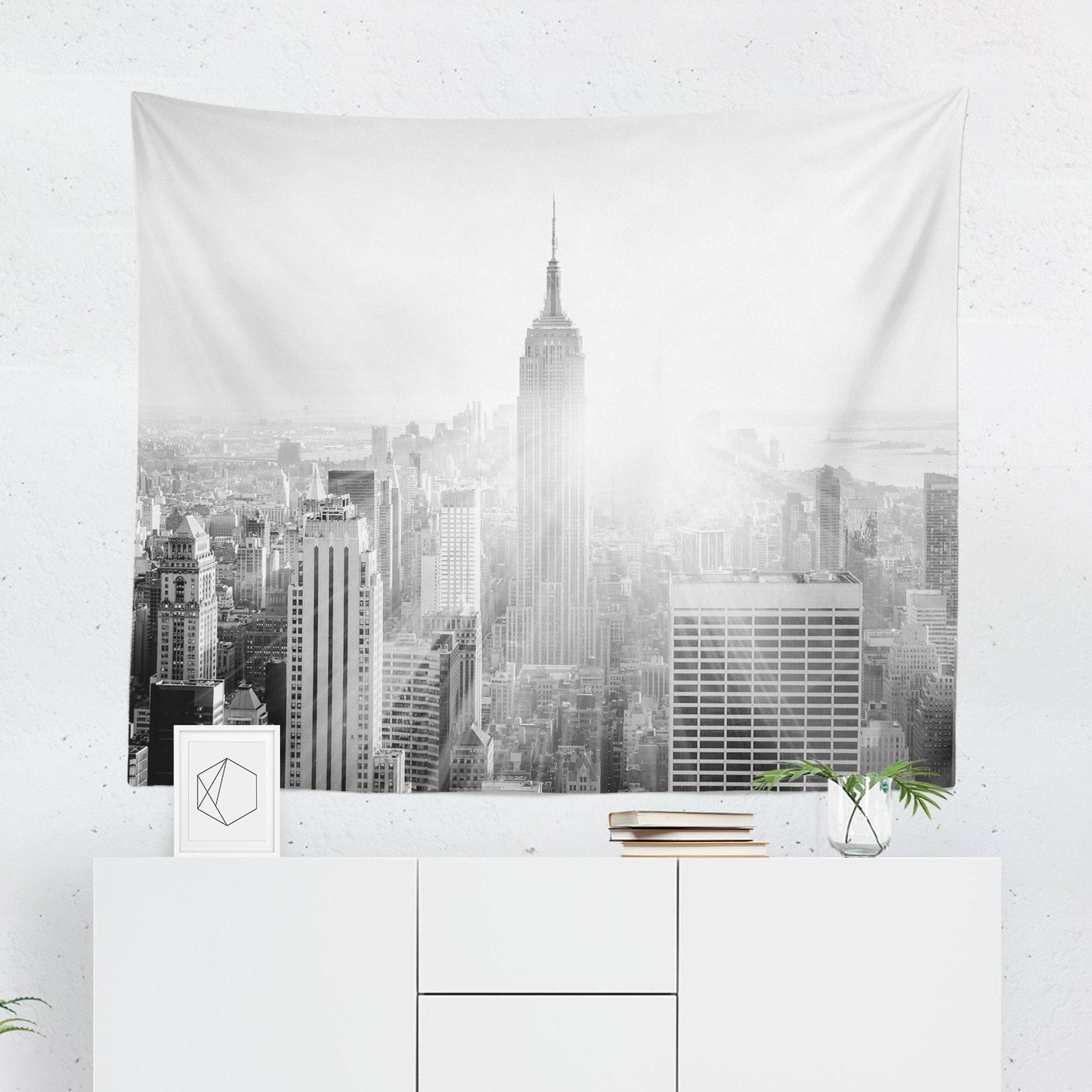 New York Tapestry New York Wall Tapestry New York City Etsy