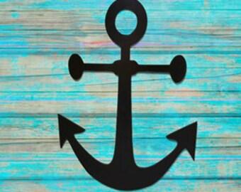 Anchor Wall Art - Metal Anchor Wall Hanging