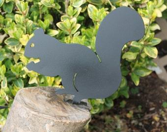 Metal Squirrel- Yard Art Critters-metal animals