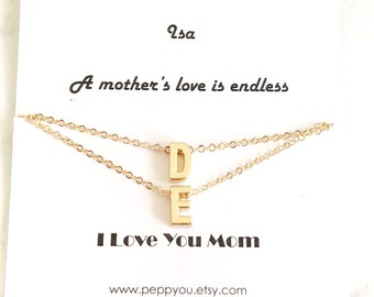 Mothers Day Necklace, Mothers Day Gift, Personalize Mom Necklace, Mothers Day, Mothers Necklace, Mom Necklace, Mom Necklace Card, Gift