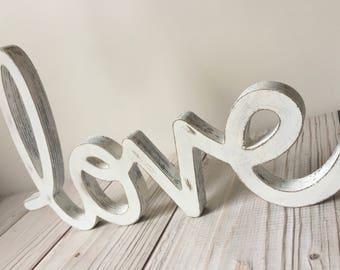 Rustic Home Decor - Rustic Wedding Decor - Love Sign - Wood Sign - Farmhouse Decor - Love Sign - Wedding Decor - Rustic Sign - Wall Decor