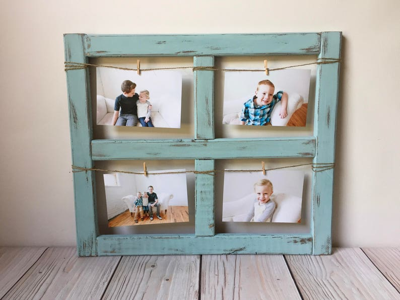 Window Frame Picture Frame Gift Farmhouse Decor Old Etsy