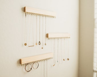 Jewelry Organizer - Jewelry Gifts - Jewelry Display - Jewelry Holder - Modern Home Decor - Minimalist - Modern Farmhouse Decor - Wall Art