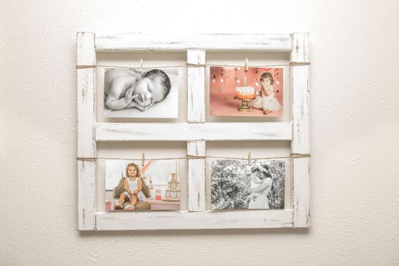 Window Frame Old Window Rustic Home Decor Picture Frame
