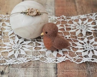Felted photography props, newborn photography, felted photo props, felted bird, Robin, newborn bird prop, spring, spring props, felted lovey