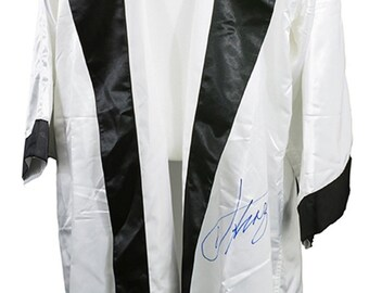 3524e0fe8c98 Joe Frazier Signed White Everlast Boxing Glove Sports Integrity COA