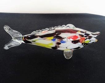 Fish glass Murano-26 cm