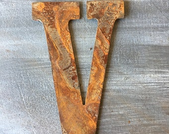 5 Inch Rusty Metal Roman numerals 1 thru 12 -5 -DIY clock-Spool Clock-Rusty Metal-DIY Clock-clock set-Clock Parts-Craft Ideas