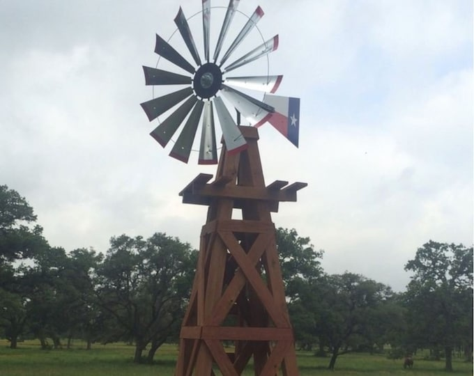 47 Inch Windmill Kit for 15 Foot Windmill Tower-Authentic Windmill-DIY Windmill-Working Windmill-Yard Decor-Outdoor Decor-Yard Accent-Real