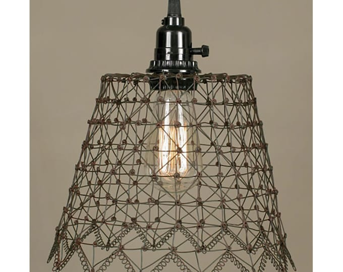French Wire Pendant Fixture