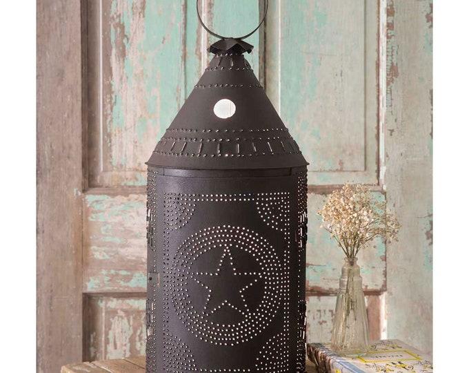 Two Foot Star Paul Revere Lamp