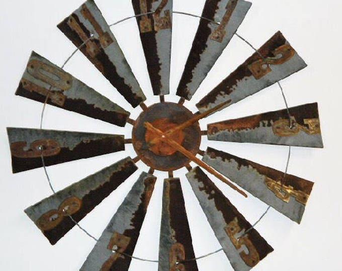 38 Inch Authentic Windmill Clock