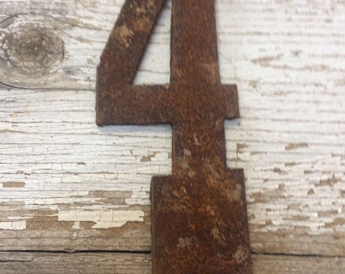 Featured listing image: 4 Inch Clock Number Set- Rusty OR Natural-Numbers 1-12 -DIY clock-Spool Clock-Rustic Clock-DIY-Metal Numbers-Rusty Numbers-Free Shipping