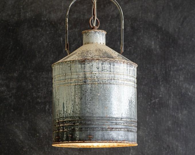 Rustic Farmhouse Pendant Light