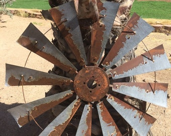 38 Inch Authentic Rustic Windmill Head