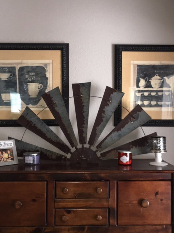 Large 47 Inch Windmill Half