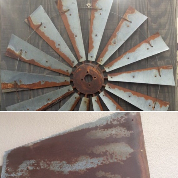 Large 47 Inch Windmill Head with Tail