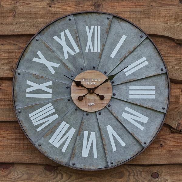 Roman Numeral Windmill Wall Clock