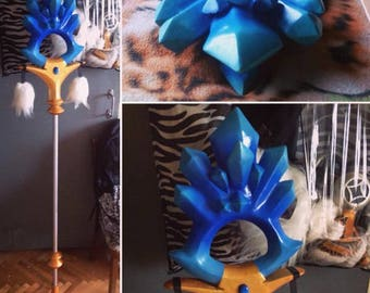 Crystal Maiden Classic Staff Dota inspired prop for cosplay