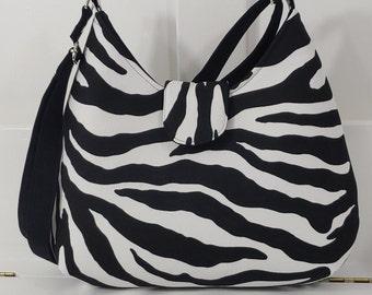 ilustrated zebra purse zebra crossbody bag boho crossbody bag handrolled roses embellished gypsy purse handmade purse large animal print bag