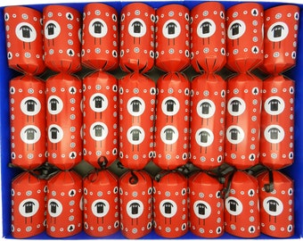 8 Fill Your Own Sheep Design Christmas Crackers