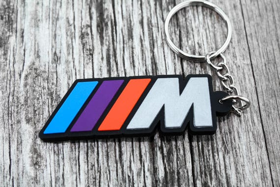 M power Motorsport keychain keyfob keyring for BMW  M1 M2 M3 M4 M5 M6 car logo
