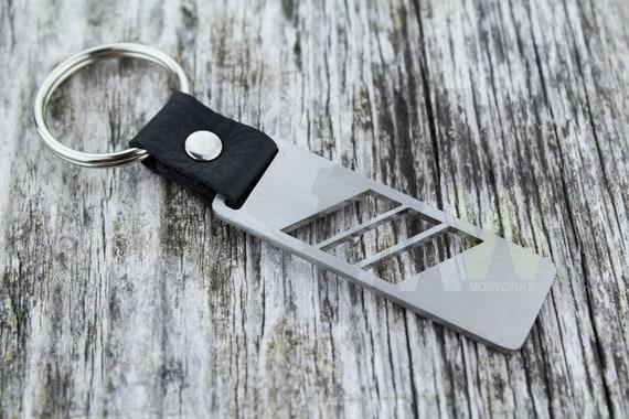 M power Motorsport stainless steel keychain keyring for BMW  M1 M2 M3 M4 M5 M6