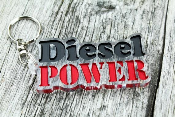 VW Volkswagen turbo diesel TDI keychain Schlüsselanhänger pendant car auto gift