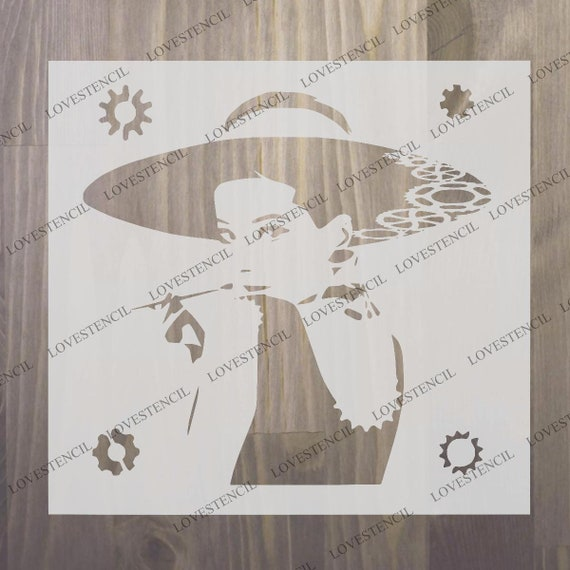 Free UK Delivery A5//A4//A3 Mylar Stencil,125//190 micron Owl Deco