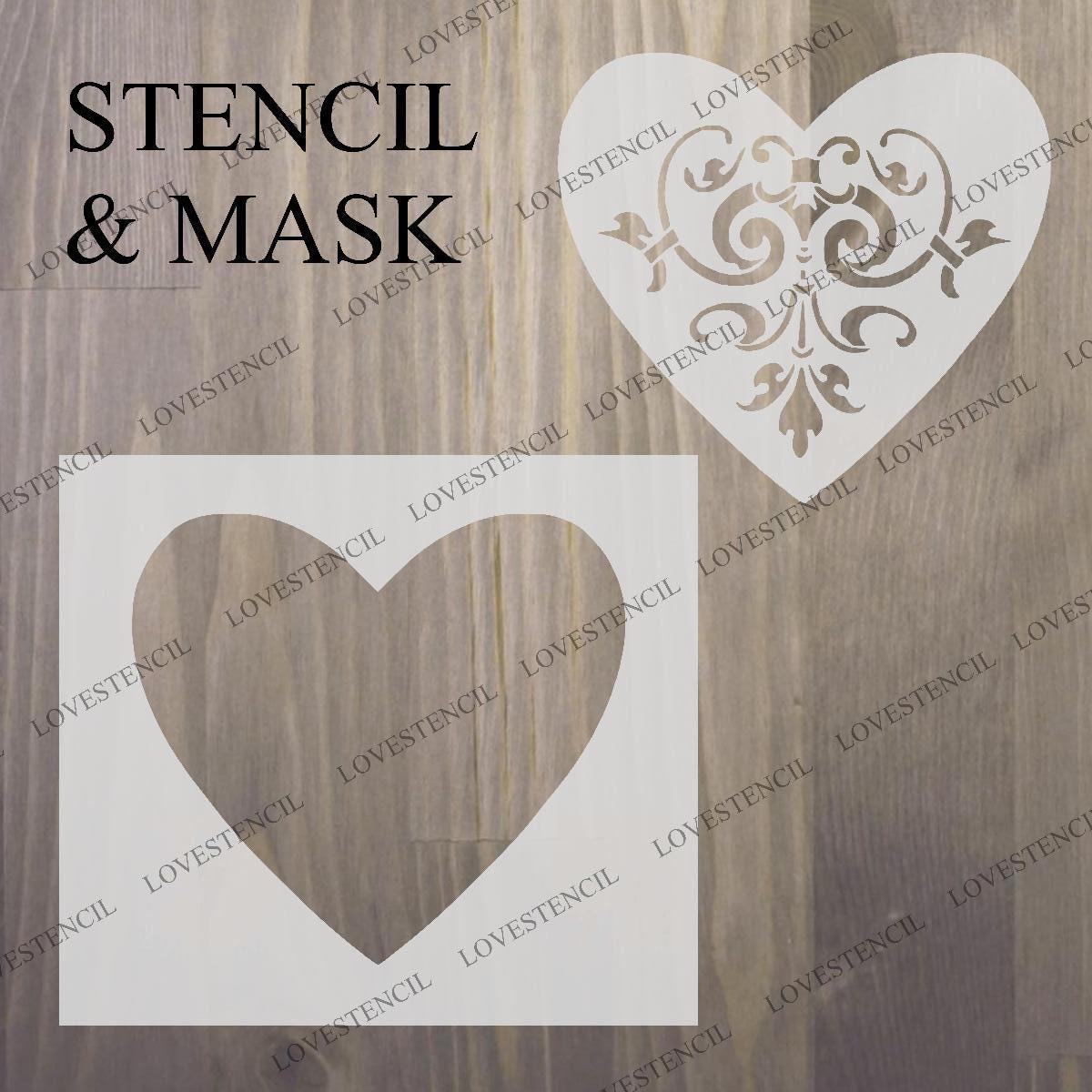 35 Shabby Chic Stencils FRENCH VINTAGE Furniture ART DECOR 125//190 micron